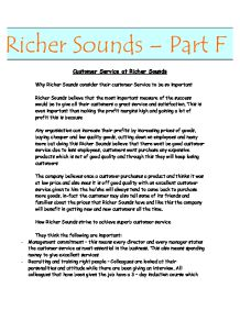 customer service at richer sounds essay 1126 people have already reviewed richer sounds websales voice your opinion today and help build trust online | wwwrichersoundscom/stores/web-sales.