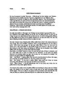 John godber bouncers essay definition