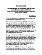 billy liar drama essay
