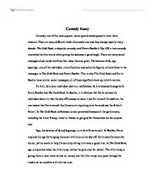 comedy essay a level drama marked by teachers com page 1 zoom in