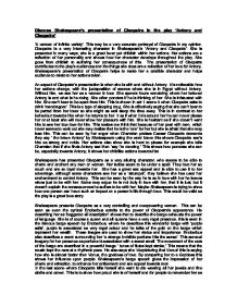 Thesis Statement Descriptive Essay Page   Thesis For Essay also High School Entrance Essays Discuss Shakespeares Presentation Of Cleopatra In The Play Antony  Essay Proposal Sample