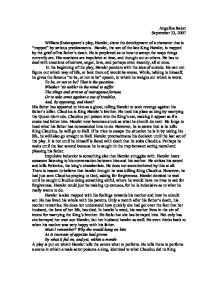 hamlet entrapment essay From the very beginning of the play, hamlet is split against himself in a state of entrapment, which is spawned by the unbearable situation with his family throughout much of the play, hamlet attempts to rationally think his way through his situation his emotions, however, are far too strong for him to adhere to reason alone.