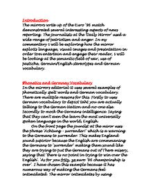 Demonstrated patriotism essay