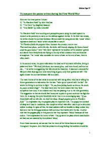 hero poem essay