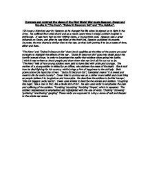 Siegfried Sassoon Sassoon, Siegfried (Contemporary Literary Criticism) - Essay
