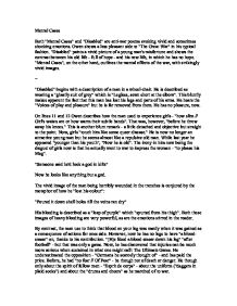mental cases essay