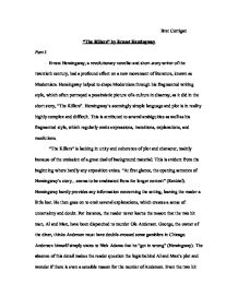 Buy Custom Essay Papers Page  Zoom In Essay On Healthy Foods also English Essay Topics For Students The Killers By Ernest Hemingway  Alevel English  Marked By  Help Writing Essay Paper