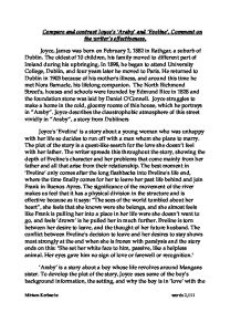 Thesis Statement For An Essay  Araby And Eveline Essay Research Paper In  Essays On Health also Persuasive Essay Thesis Eveline And The Boy In Araby Essays     Araby And  How To Write An Essay Thesis