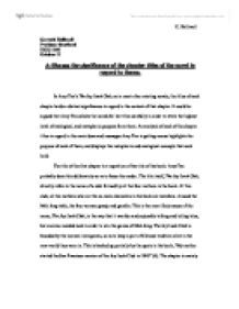 significance of titles to our understanding of the novel english literature essay In literature the meaning titles are not always so easy to find in some cases the title of a piece is the most artistic part of the entire work titles are used in almost every form of literature and also in most all other art forms the titles are important because they make people remember the piece.