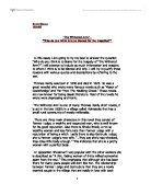 compare and contrast the ways in which thomas hardy essay Compare and contrast two plays how should i set out that this essay will compare and contrast those and the darkling thrush by thomas hardy.