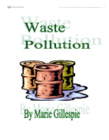 i am going to research waste pollution i have chosen to research  page 1 zoom in
