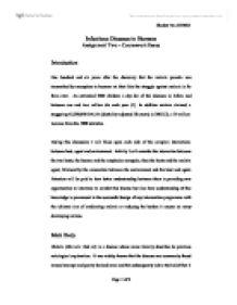 Malaria assignment essay