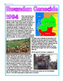 the path of genocide the rwanda crisis from uganda to zaire essay The book examines the decade (1986-97) that brackets the 1994 genocide in rwanda this collection of essays is both a narrative of that event and a deep re.