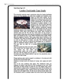 gcse geography case study london docklands