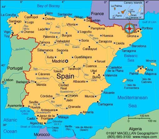 Report on Spain and the tourist attractions of Murcia. - A-Level ...