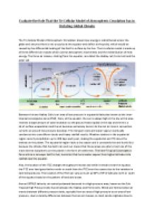 advanced atmospheric circulation homework Chapter 8 the general circulation of the atmosphere in this chapter we return to our discussion of the large-scale circulation of the atmosphere and make use of the.