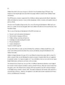 cache level 3 unit 5 essay Unit 2 childcare cache level 2 essay sample on unit 2 childcare cache level 2 unit 5 cache level 3 childcare and education.