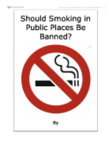 banning smoking indoors in public places argumentative essay pay  banning smoking indoors in public places argumentative essay