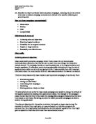 Examples Of A Thesis Statement For A Narrative Essay Describe The Ways To Evaluate Health Education Campaigns Including The  Preset Criteria To Be  My Mother Essay In English also Thesis Statement Examples For Persuasive Essays Promoting Good Health Health Promotion Evaluation  Alevel  Examples Of Thesis Statements For Essays