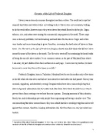 How To Write A Comparative Essay Essay On Frederick Douglass S Views About Slavery In The City And Narrative  Of The Life Leaders Essay also The World Is Too Much With Us Essay Fredrick Douglass Essay Frederick Douglass Narrative Essay Frederick  Essay On My Favourite Place