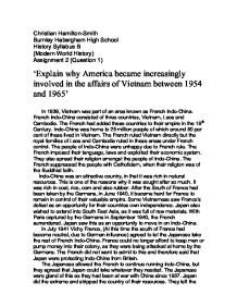 why usa became involved in vietnam essay