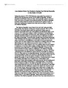 """wilson treaty of versailles essay example The treaty of versailles was intended to be a peace agreement between the  allies and  """"the french, for example, had no intention of abandoning what  wilson."""