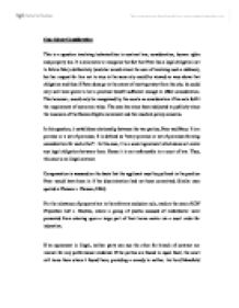 Essay on consideration in contract law