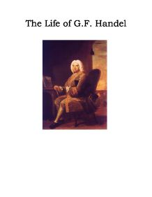a biography of the life and literary life of george frederik handel 9 posts published by roberta rood during november 2012  fact of my recent immersion in the life william's  of the british magazine literary.