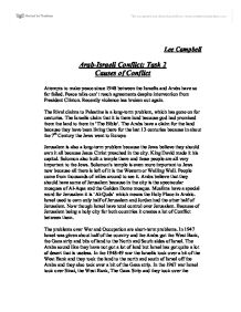 Essay about conflict