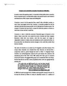 compare and contrast the concepts of alienation and anomie essay Anomie sociological concept in five pages emile durkheim's  alienation and anomie  compare & contrast essays essay examples.