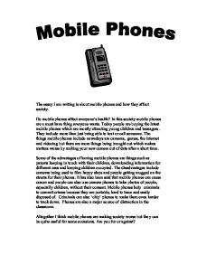 Are mobile phones safe essay