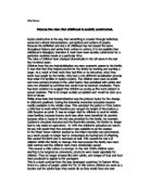 socially constructed childhood essay The essay will lay out the debate that age divisions are socially constructed with  the points raised in a crucial age group: childhood.