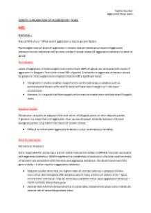 Degree level essay plan
