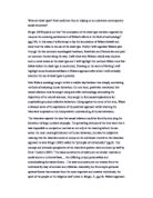 Literary Analytical Essay Sample