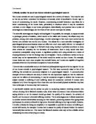 ethics and psychology essay