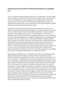 short essay about ethics