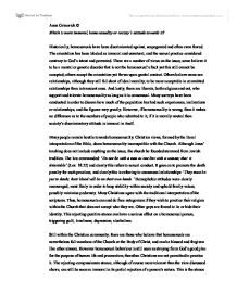 Ethics homosexuality essay