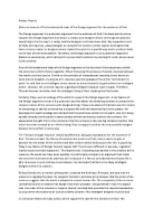 design argument a level essay Classic model for an argument below is a basic outline for an argumentative or persuasive essay this is only one possible outline or organization.