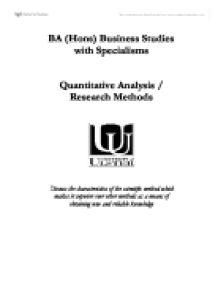 Scientific method and philosophical analysis essay