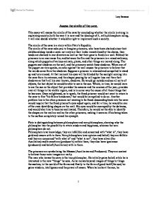 aristotle vs plato learning is recollection essay