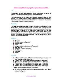 Examples List on Lipase