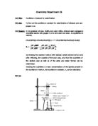 equilibrium constant of an ester hydrolysis