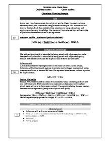is sulphuric acid dibasic essay Health sciences admission essay  is sulphuric acid dibasic in this plan i shall demonstrate that sulphuric acid is dibasic.