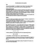 determination of dissolved oxygen in a water essay