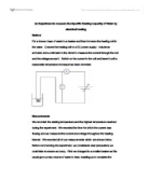 lab specific heat capacity essay Heat capacity, c p, is the amount of heat required to change the heat content specific heat 2 set a 1000 ml beaker on a ring stand as shown in the diagram below.
