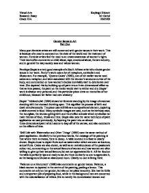 gender issues nursing essay