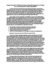 what is a scientific principle in a essay