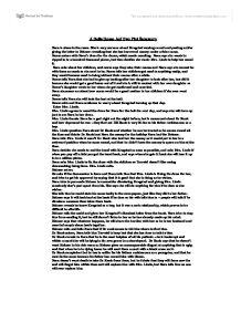 A Dolls House Act 2 Plot Summary Gcse Drama Marked By Teachers Com