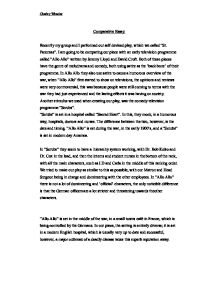 Introduction to comparative essay example