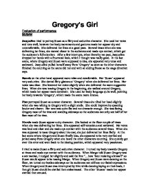 "gregorys girl essay But if, as gregory said to rachel kaadzi ghansah in her 2013 essay ""if he   sustained yet very faint presence of a woman, gregory's momma,."